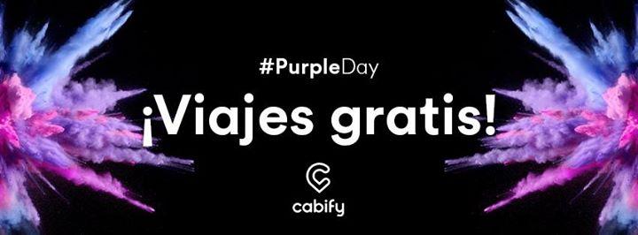 Cabify: Viajes Gratis hasta por $40 (Purple Day en Tijuana)