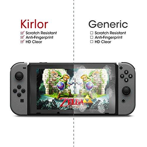 Amazon: Cristal templado para Nintendo Switch en $88