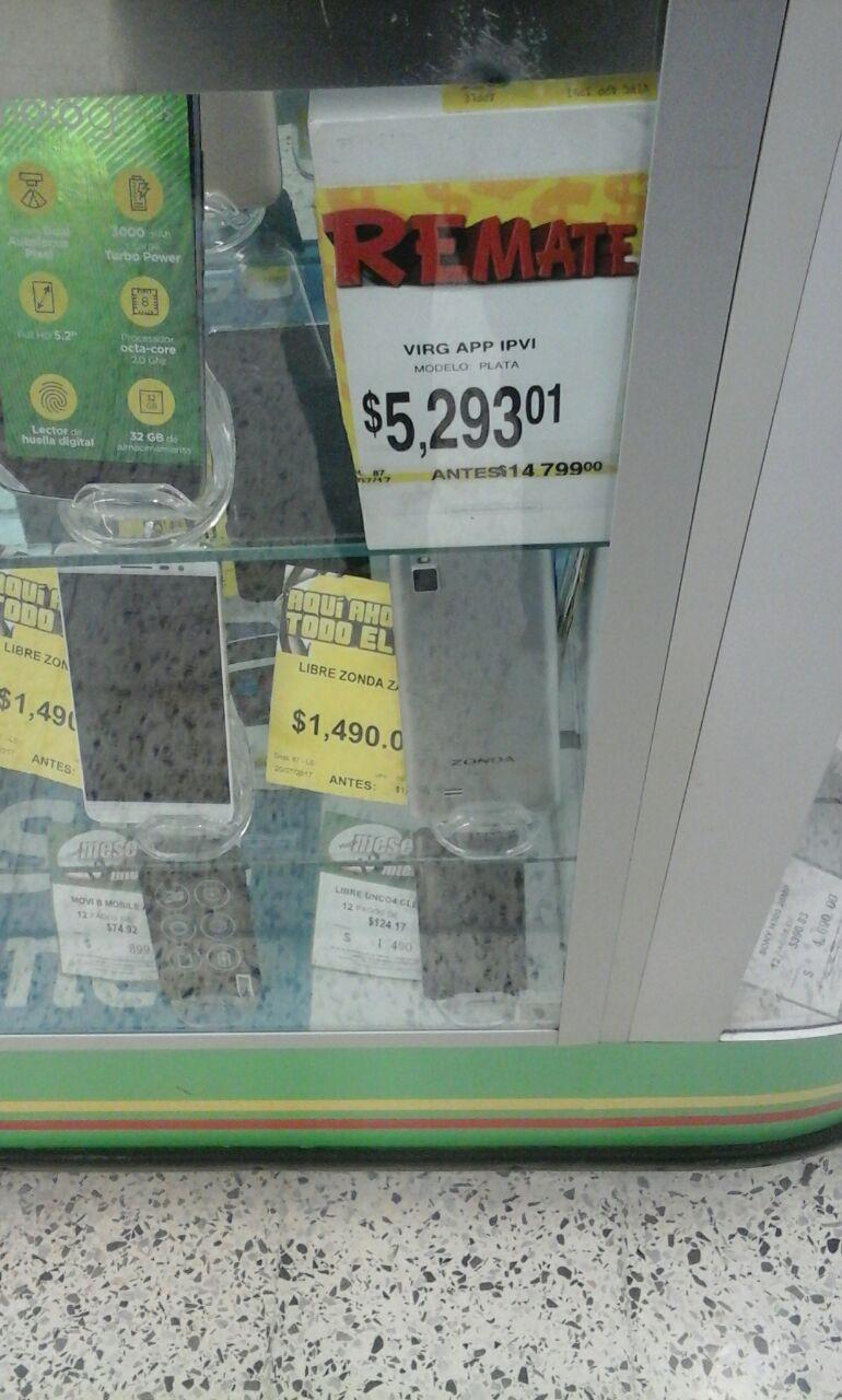 Bodega Aurrerá: iPhone 6 16gb a $5,293.01