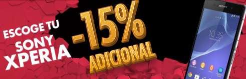 Linio: Todos los celulares Xperia con 15% de descuento adicional