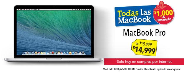 Best Buy:: MacBook con $1000 de descuento y dinero en cupones