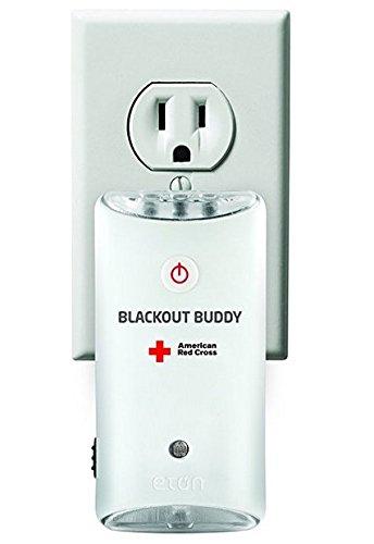 Amazon: 2 linternas de Emergencia, Cruz Roja Americana Blackout Buddy ARCBB200W-DBL