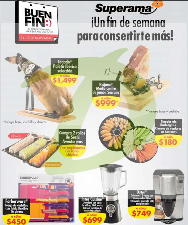 Ofertas completas del Buen Fin 2014 en Superama