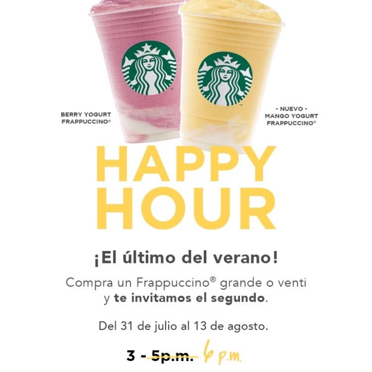 Starbucks: Happy Hour 2x1