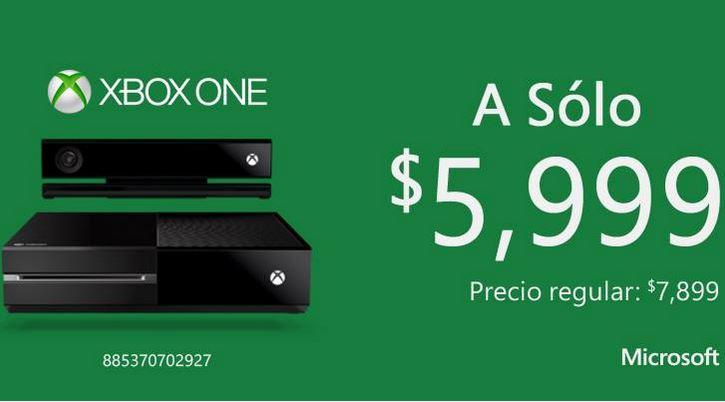 City Club: Xbox 360 con Kinect $2,999 y Xbox One $5,999