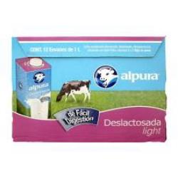 Mercadoni: Caja de leche Alpura deslactosada light