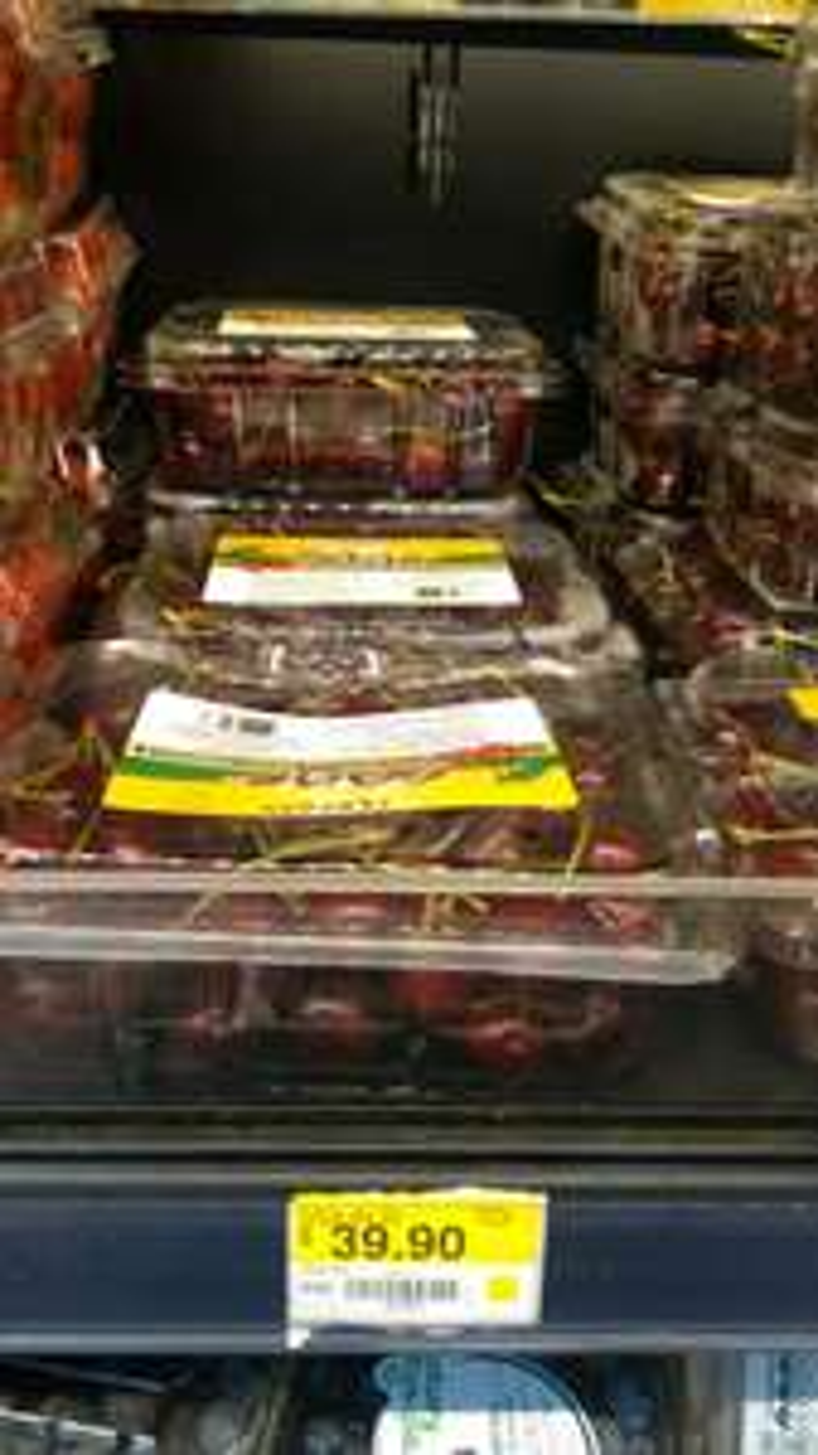 Walmart: Cerezas en caja de 450g
