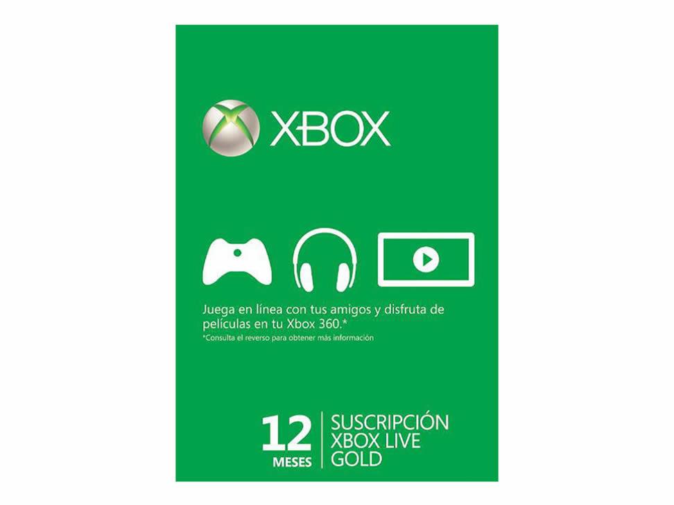 Ofertas del Buen Fin 2014 en Liverpool: Tarjeta Xbox Live Gold 12 Meses $393
