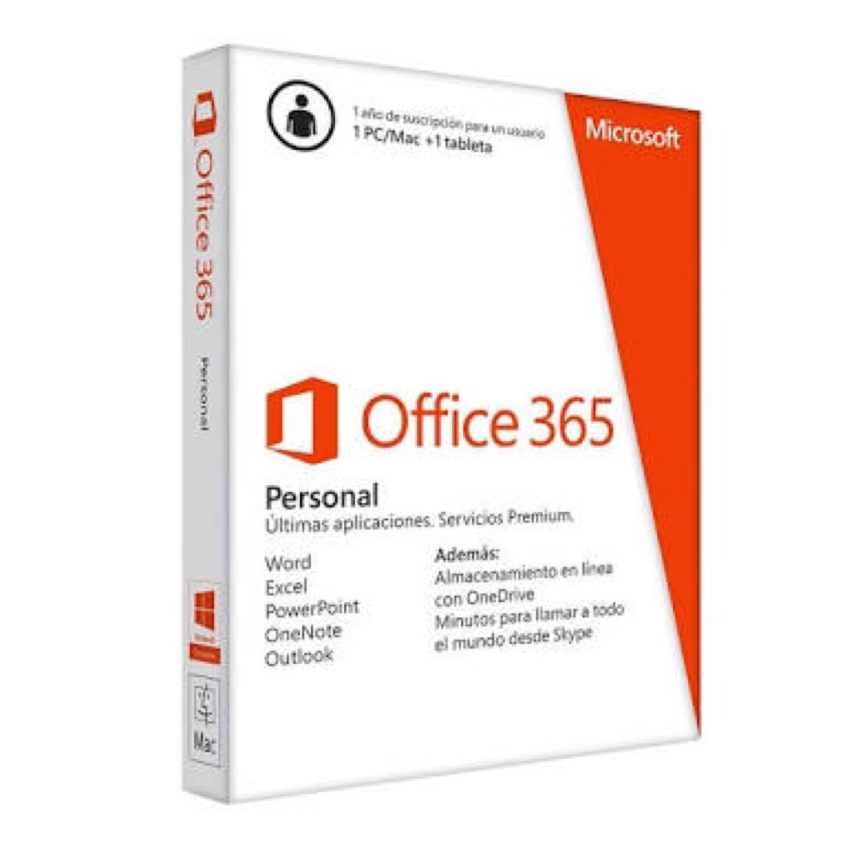 Tienda Telmex: Office 365 Personal