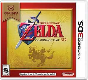 Amazon México: The Legend of Zelda Ocarina of Time $299 y Fire Emblem Fates: Conquest $449 para 3DS