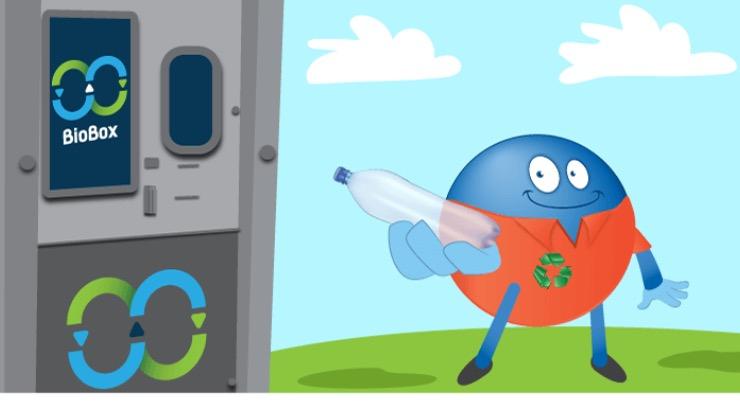 Puntos Payback al reciclar: 1 punto por cada botella o lata en Bio Box