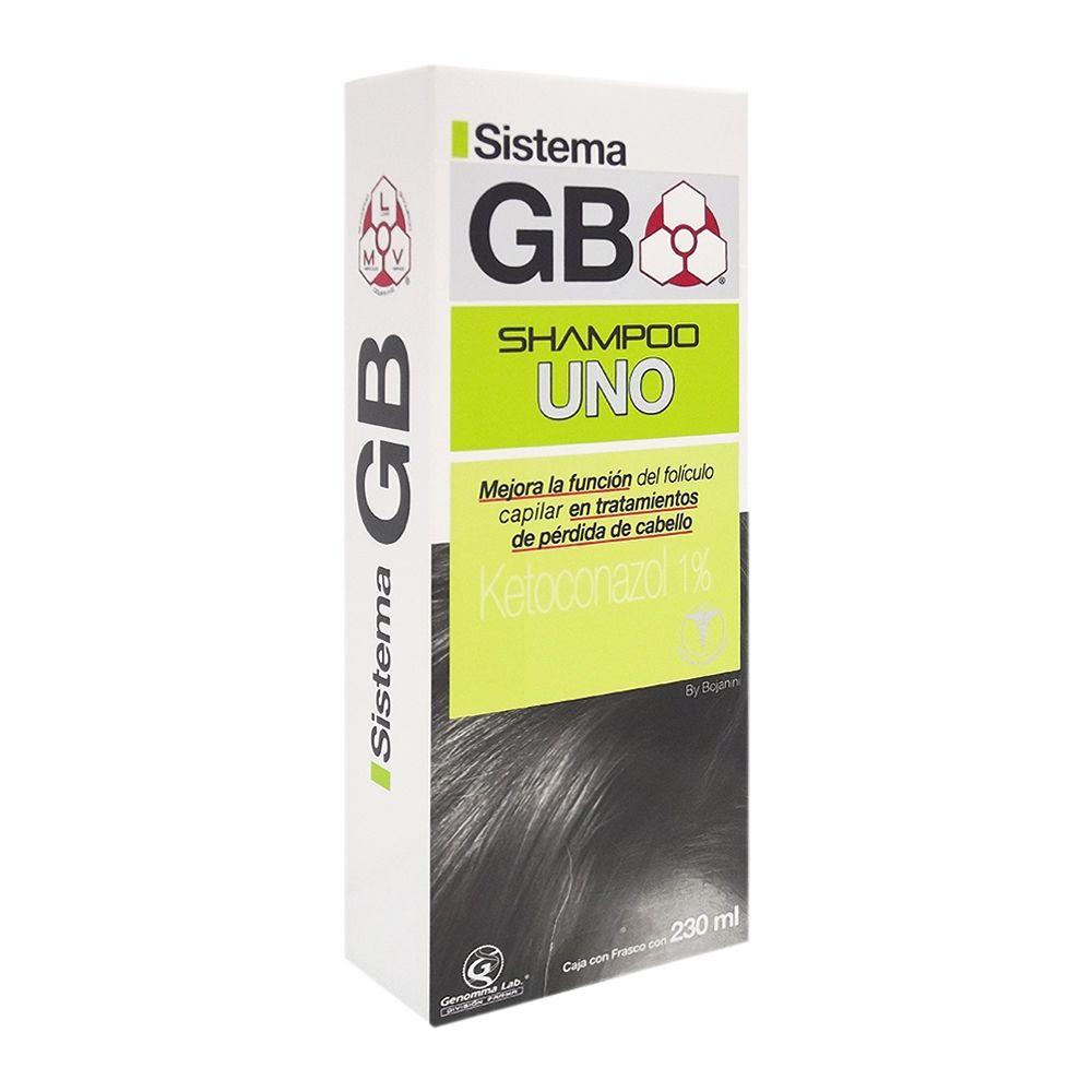 Bodega Aurrerá: Shampoo uno y dos Solucion GB 230ml