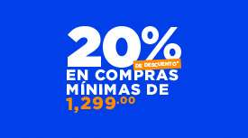 Martí en línea: descuento del 20% en compras mínimas de $1,299