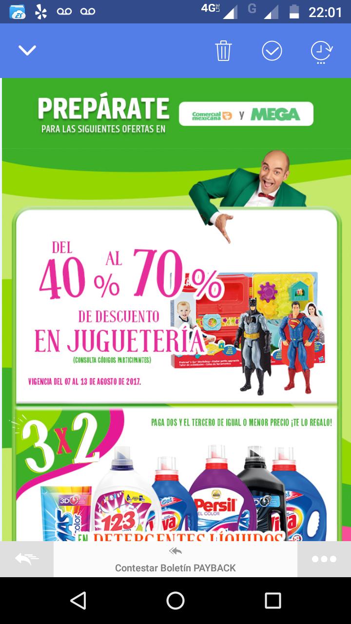 Julio Regalado 2017 en Comercial Mexicana: descuento del 40% al 70% en juguetería