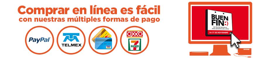 Ofertas del Buen Fin en DeCompras: Cupón de $500 en compras de $1,000 con Banamex, envío gratis y -$100 en primera compra