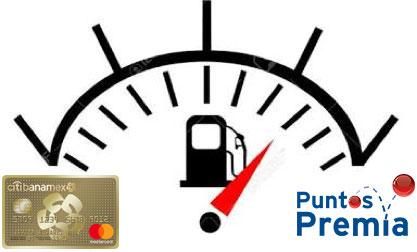 CitiBanamex: Miercoles de Gasolina Tarjeta ORO/CLASICA todo 2017