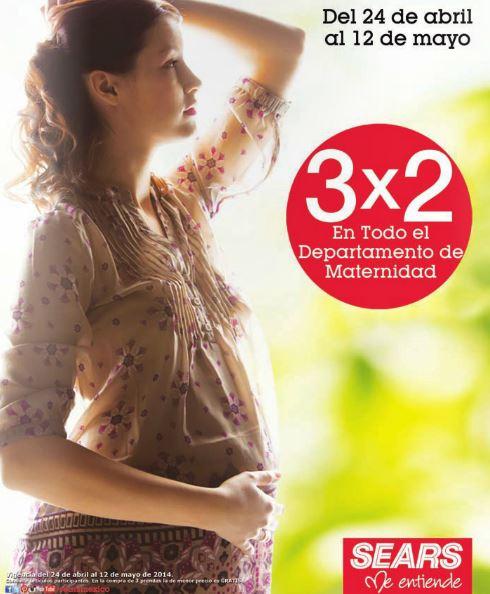 Sears: 3x2 en departamento de maternidad