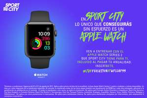 Sport City: Apple Watch 2 de regalo al pagar anualidad.
