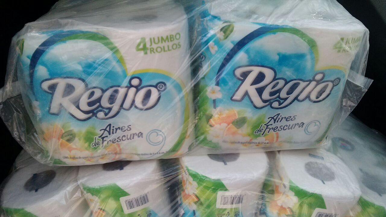 Del Sol Saltillo Sendero: Papel Higiénico Regio 4 rollos a $9.73