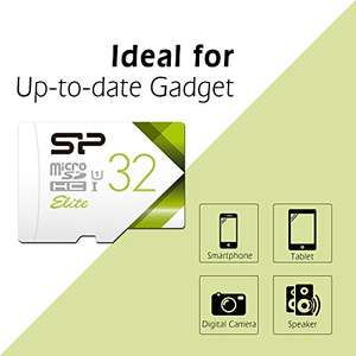 Amazon: memoria microSD 32GB  SP, Envío gratis PRIME