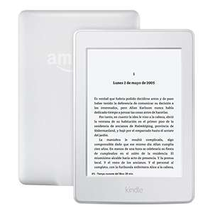 Amazon: Kindle Paperwhite color Blanco, Wi-Fi a $1,999