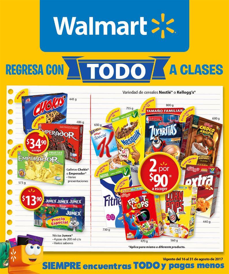 Walmart: Folleto del 16-31 Agosto