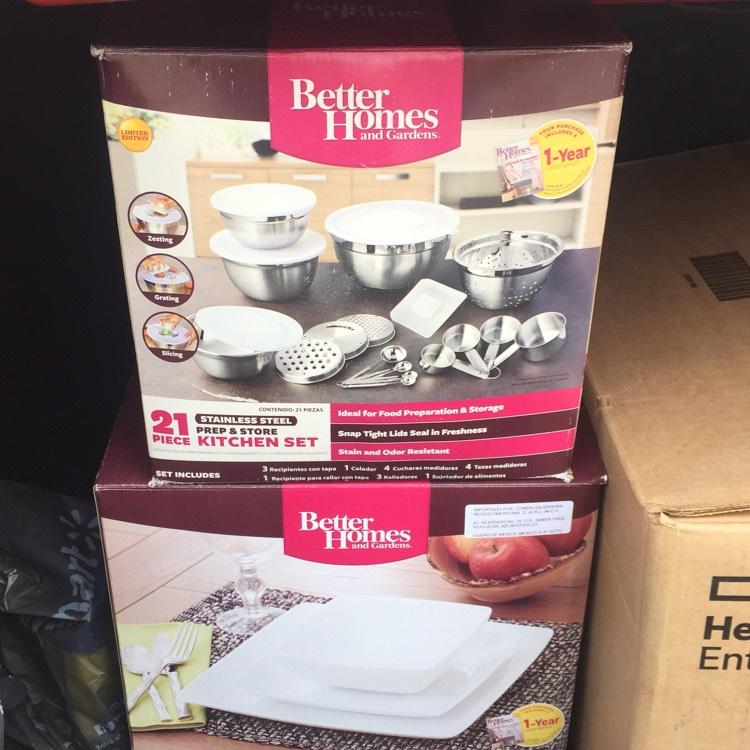 Walmart: Vajilla 12 piezas 95.03!! Y set de utensilios de cocina a 66.01