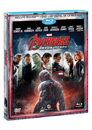 Amazon: Avengers Era de Ultrón Bluray+DVD+Copia Digital