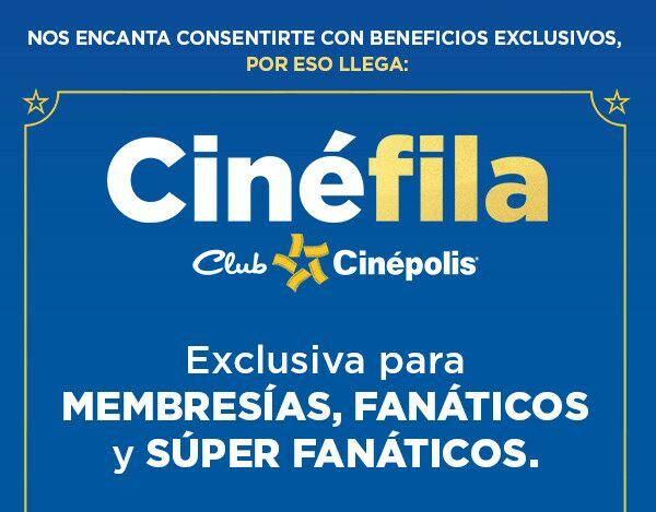 Cinépolis: Nuevo beneficio para membresías, fanáticos y super fanáticos, Fila exclusiva