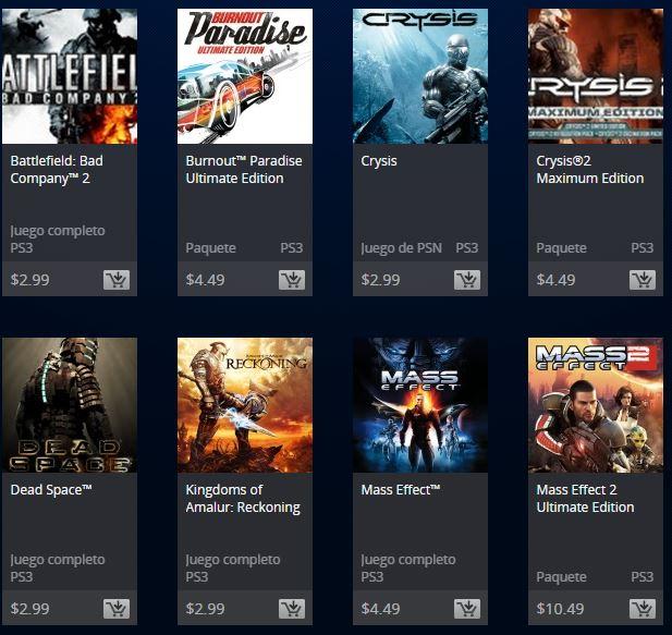 PSN Store: Ofertas de Clásicos