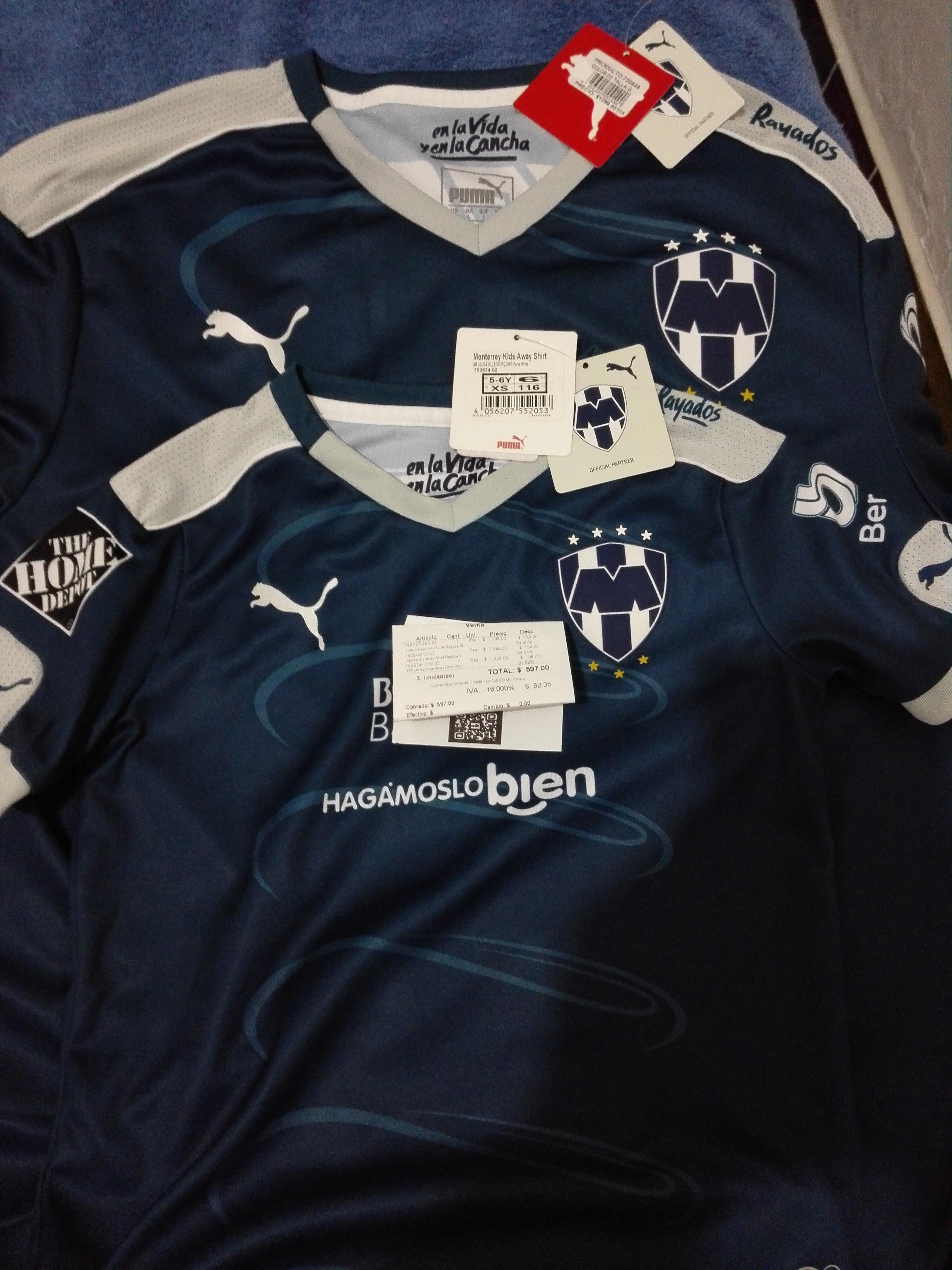 Puma Outlet: jersey monterrey, italia y mas... con -83%