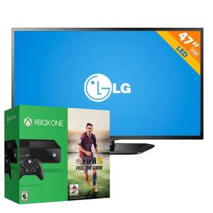 "Walmart: Xbox One y LED Smart TV LG de 47"" $10,480 con Banamex"