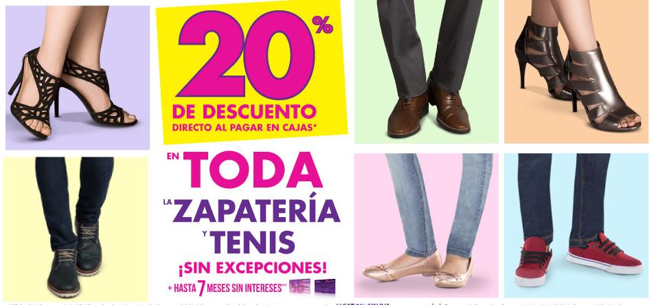 Suburbia: 20% en zapateria y tenis