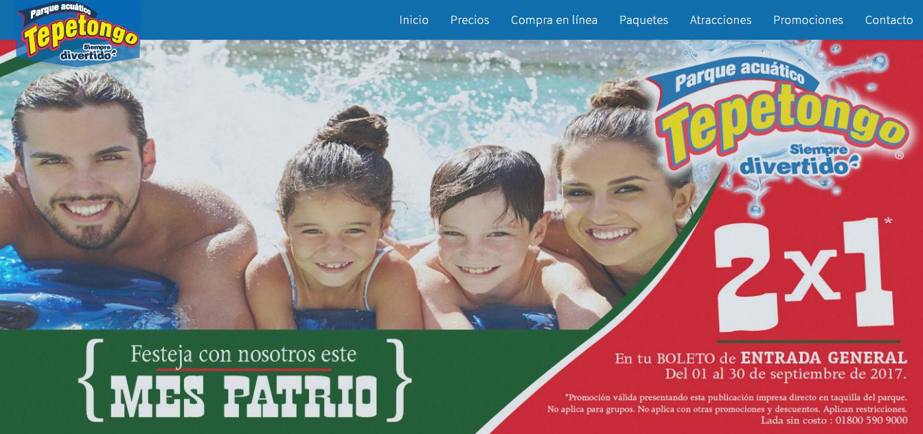 Parque acuatico Tepetongo: 2x1 del 1 al 30 de septiembre