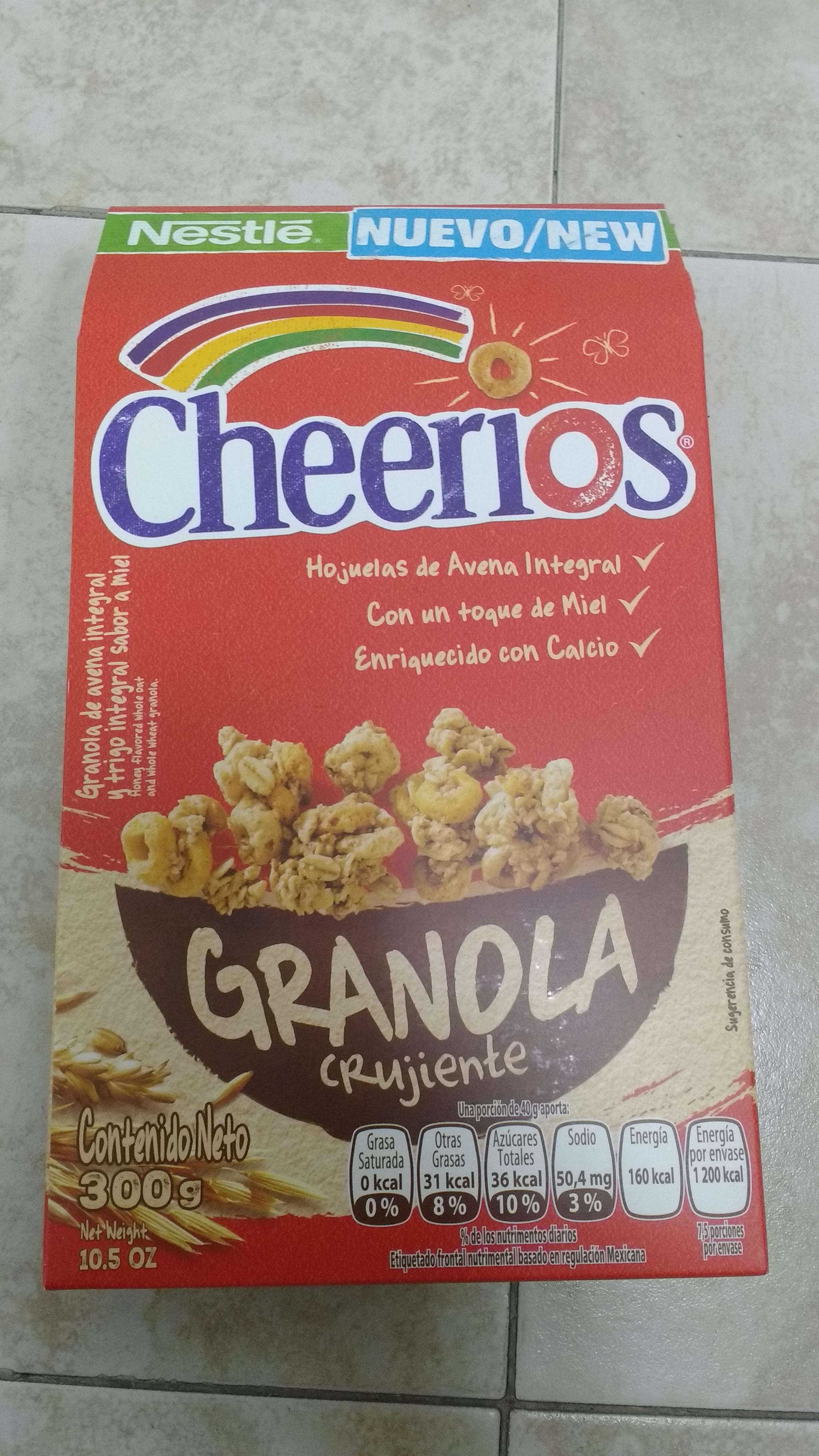 Superama División del Norte: Granola Cheerios 300 gr a $25.90