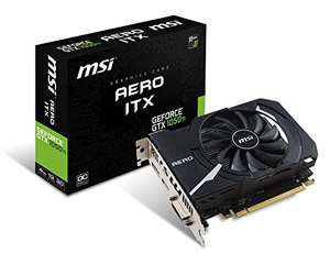 Amazon: MSI GeForce GTX 1050 TI AERO ITX 4G OC
