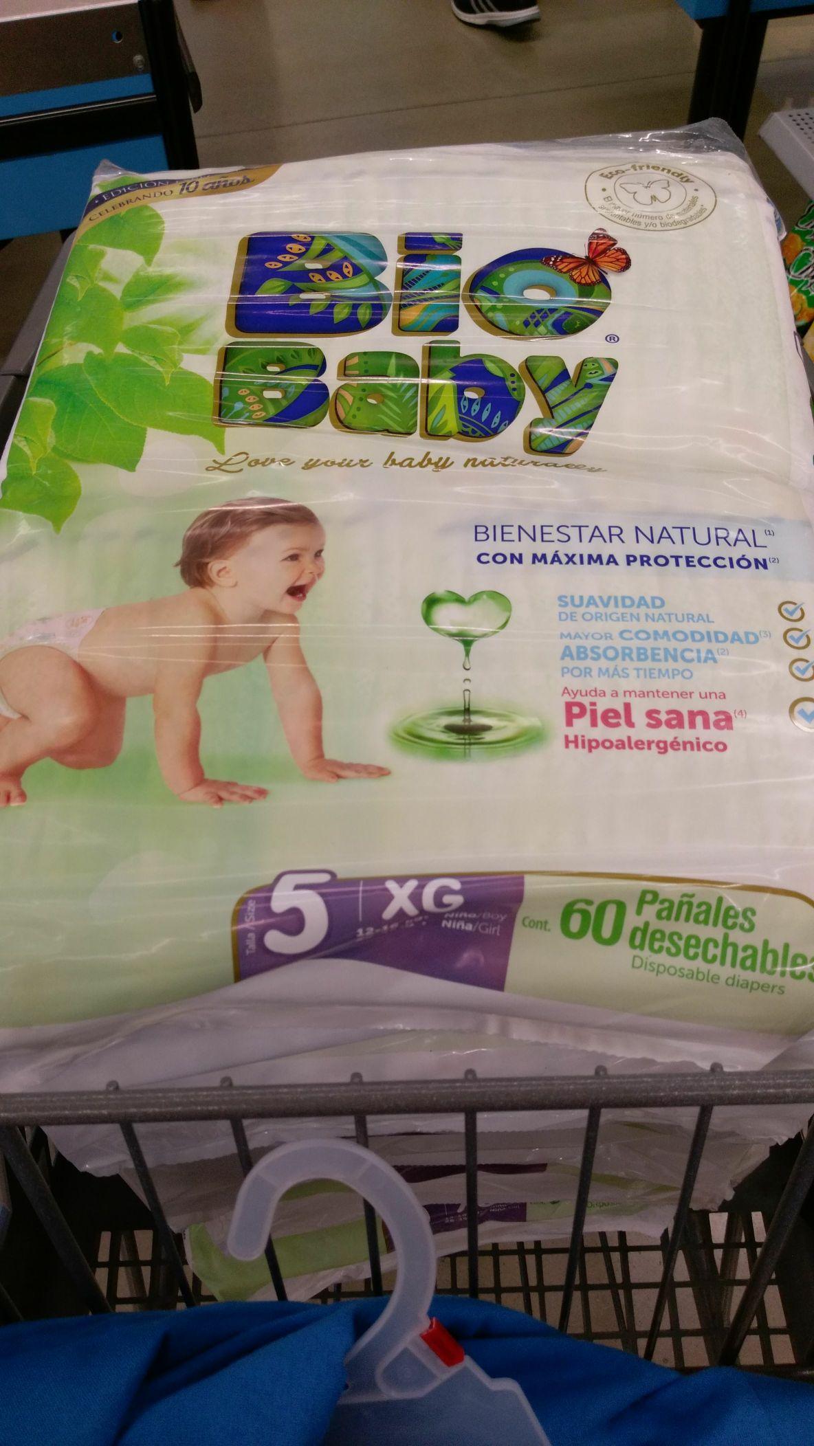 Walmart: Pañales biobaby $70.03