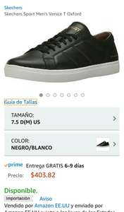 Amazon: Tenis Skechers para men 5.5 MX