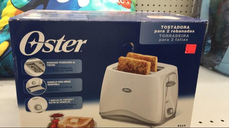 Soriana: horno tostador oster