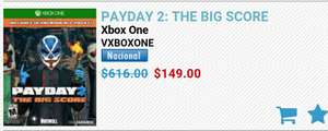 Mixup: Payday 2 The big score Xbox One