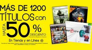 Game Rush: Grand Theft Auto V $499, Call of Duty Ghosts $399 y más juegos al 50%