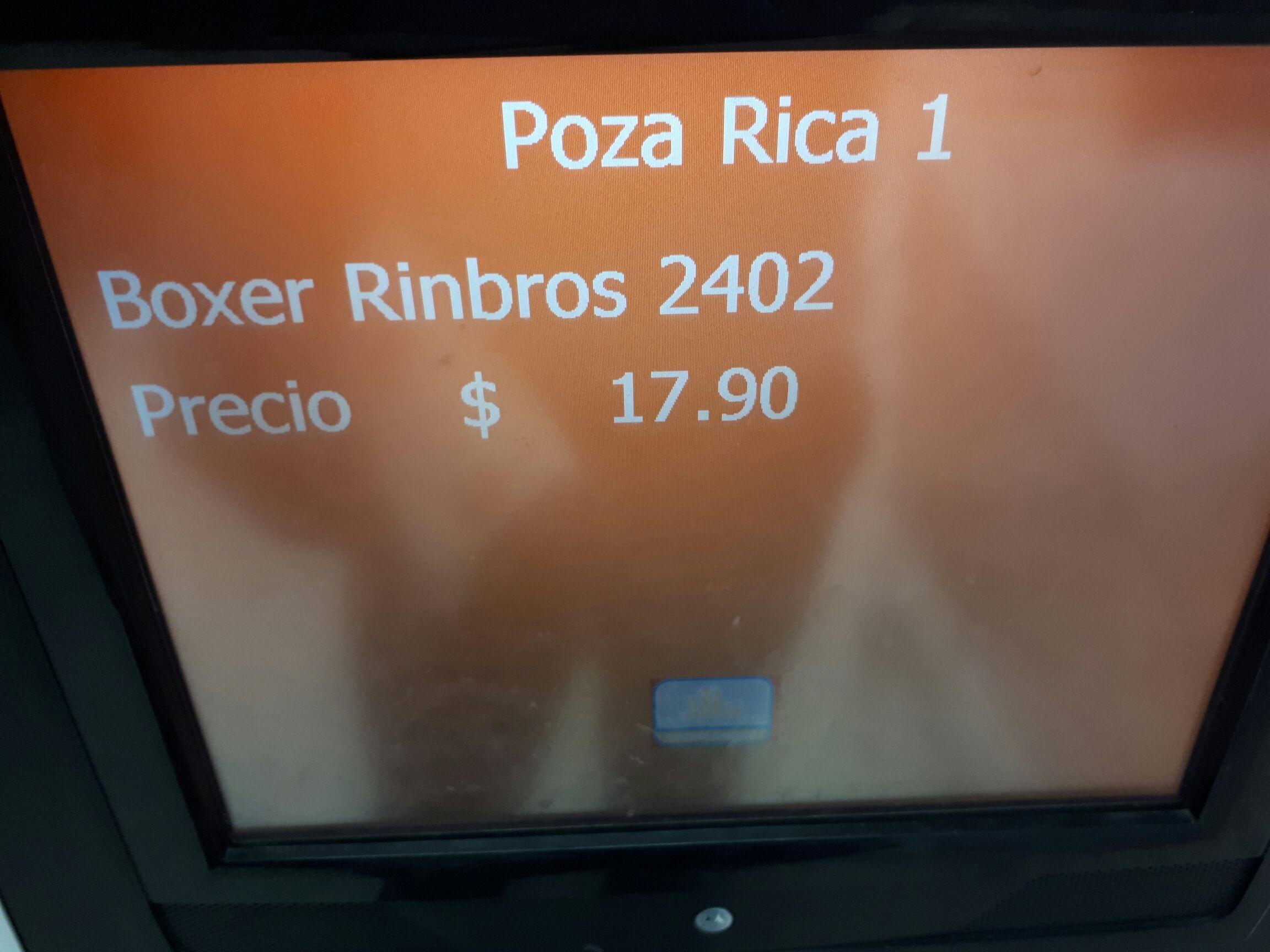 Chedraui: 4 Boxers infantiles Rinbros x $17.90.