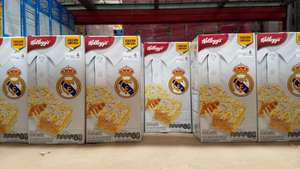 Sam's Club: Caja de barras Kellogg's real Madrid a $28