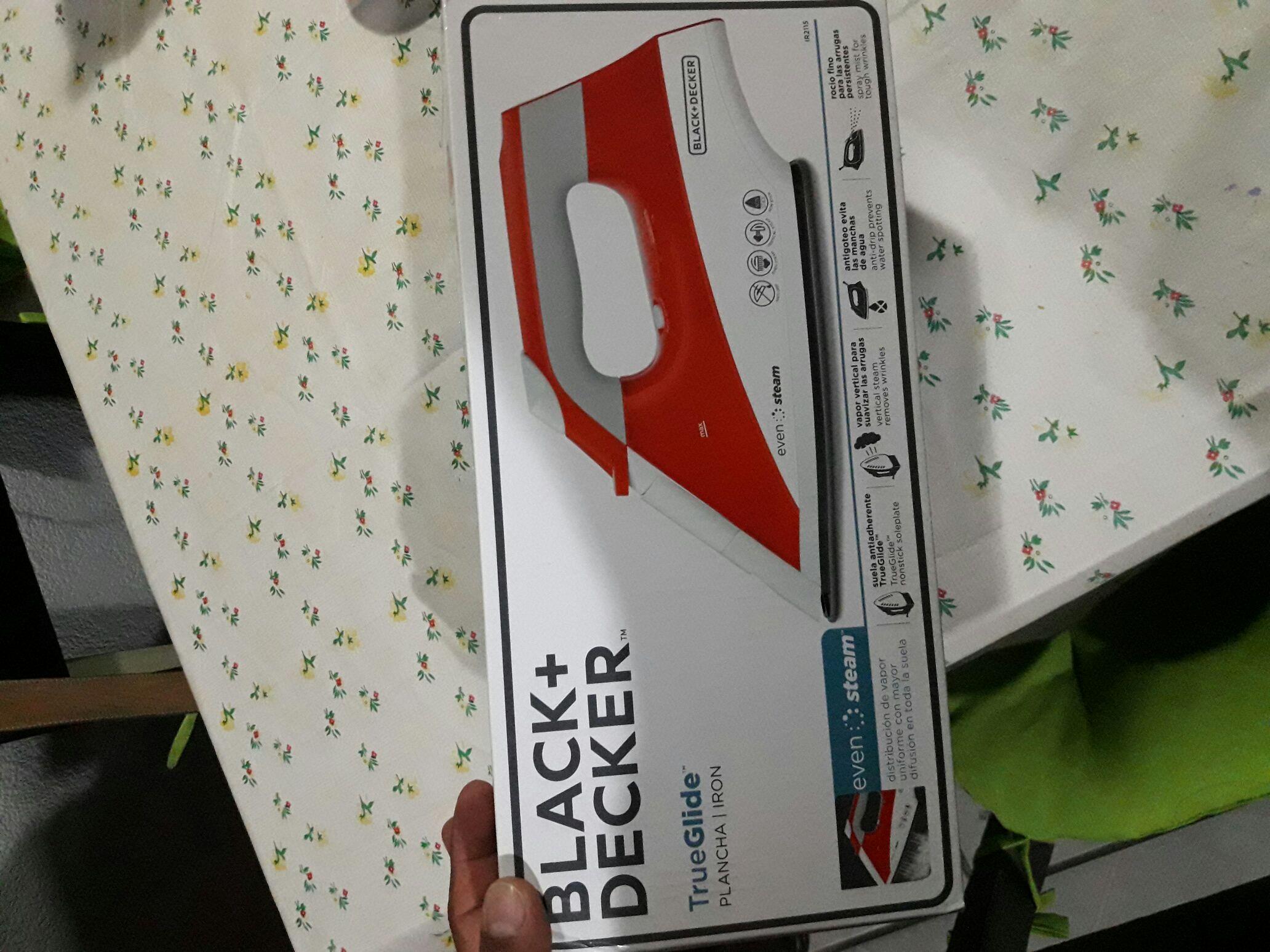 Walmart Salamanca: Plancha Black & Decker en última liquidación