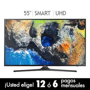 "Costco en linea: Samsung LED 55"" Smart TV Ultra HD 120Hz UN55MU6100F"