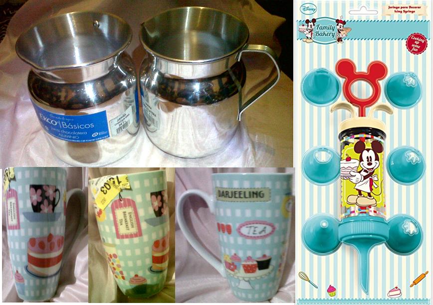 Walmart: Set de Jeringa y 7 Boquillas de Mickey Mouse a $15.03, Jarra Chocolatera Ekco a $15.03