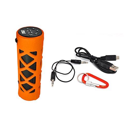 Amazon: Bocina Pyle PWPBT30OR Bluetooth Water Resistant. Con prime.