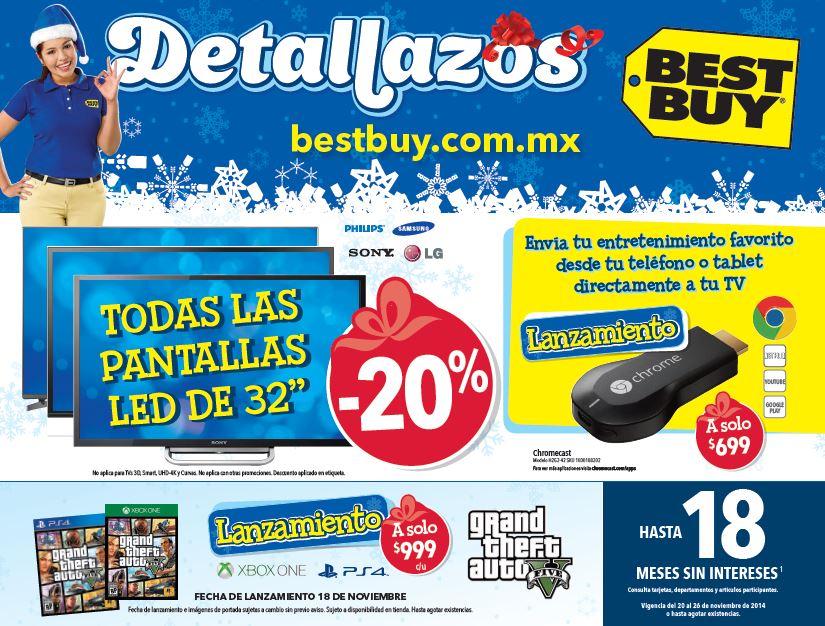 Folleto de ofertas en Best Buy del 20 al 26 de noviembre