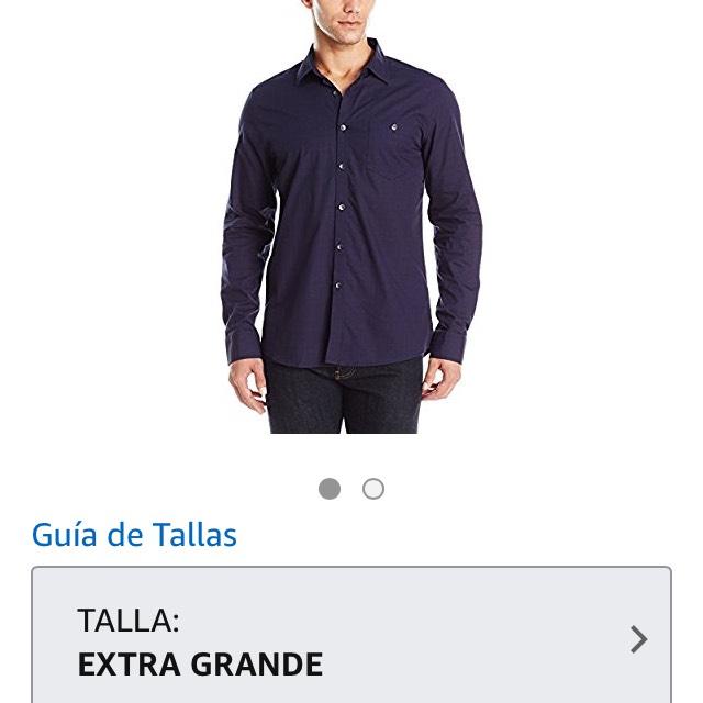 Amazon: Camisa Kenneth Cole talla XL