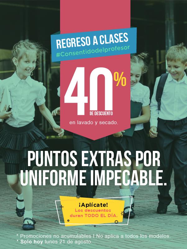 Tienda MABE:  Regresa a clases con 40% en Lavadoras, Secadoras y Centros de Lavado - Solo hoy lunes 21 de agosto